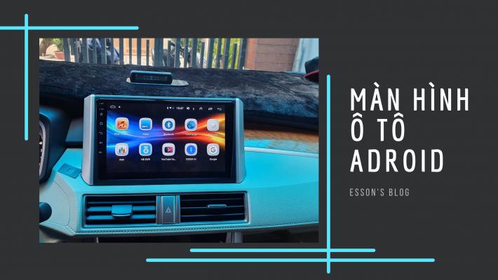 màn hình ô tô android lắp sim 4g