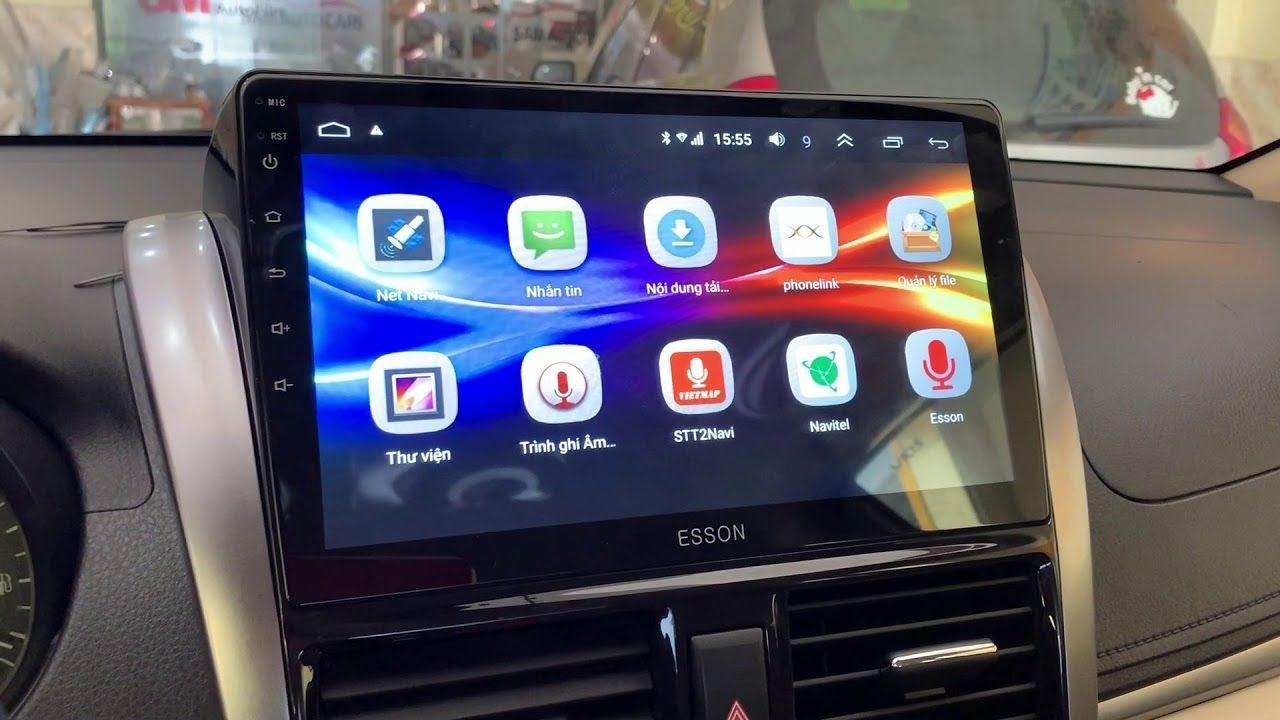 biến máy tính bảng thành màn hình ô tô 04